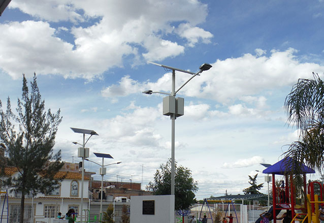 Solar Street Light in Mexico