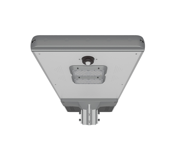 Intelligent induction 60w All In One Solar Highway Light