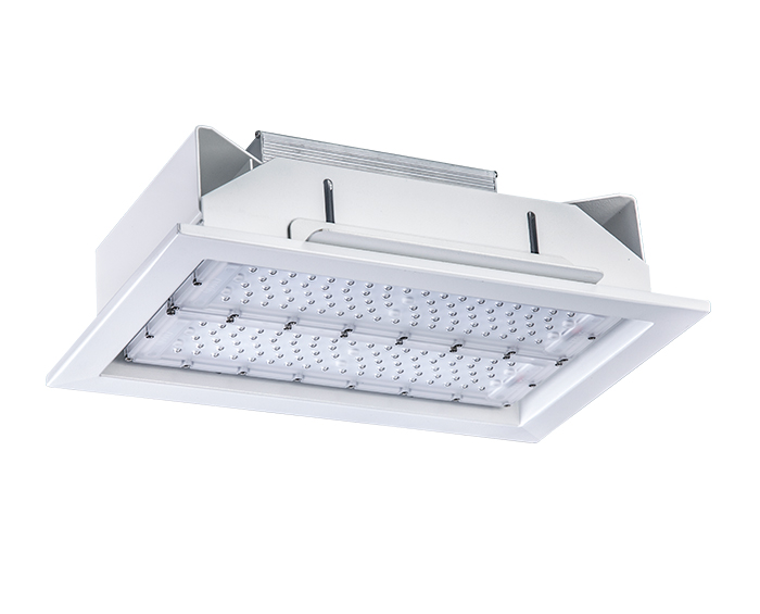 Economical 120w Recessed LED Gas Station Light