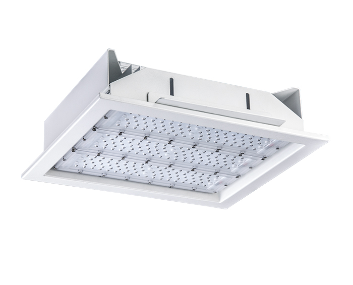 Economical 180w Recessed LED Gas Station Light Supplier