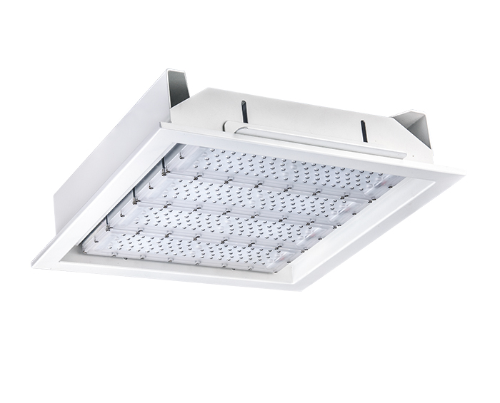 Modular design 200w Recessed Modular Design LED Canopy Light
