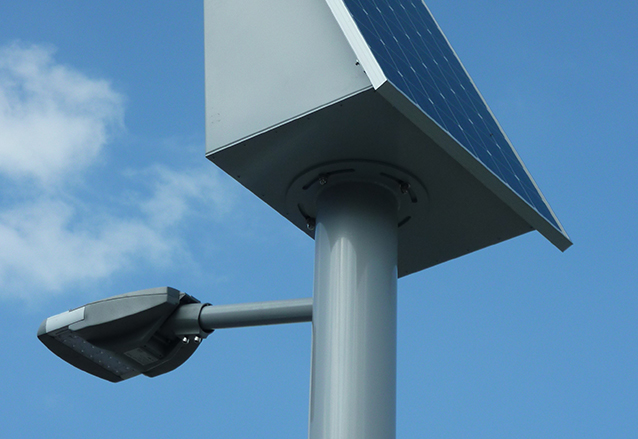 Solar Street Light in France